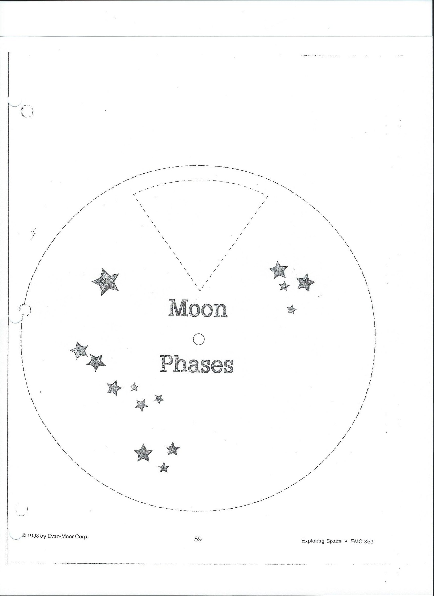 worksheet Moon Phases Worksheets show document 2 1 moon phases worksheet a